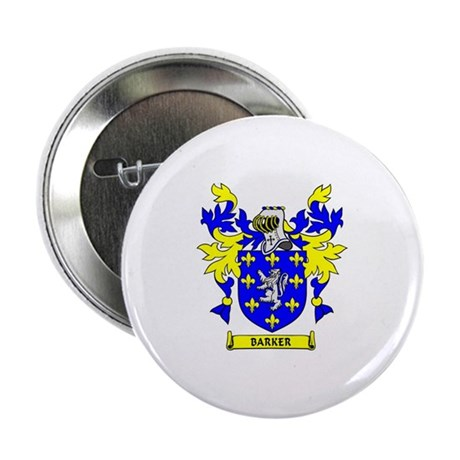 BARKER Coat of Arms Button