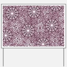 Purple Lace Yard Sign
