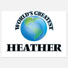 World's Greatest Heather Invitations