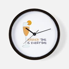 Brunch Wall Clock