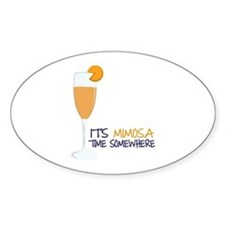 Mimosa Time Decal