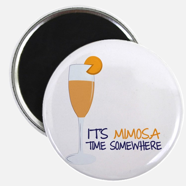 Mimosa Time Magnets