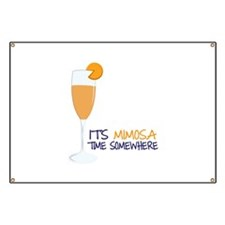 Mimosa Time Banner