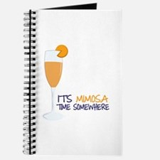 Mimosa Time Journal