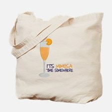 Mimosa Time Tote Bag