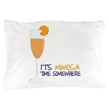 Mimosa Time Pillow Case