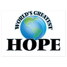 World's Greatest Hope Invitations