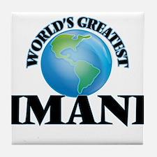 World's Greatest Imani Tile Coaster