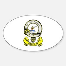 BARCLAY 1 Coat of Arms Oval Bumper Stickers