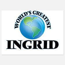 World's Greatest Ingrid Invitations