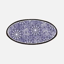 Blue Lace Patches