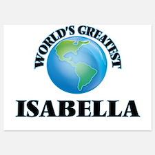 World's Greatest Isabella Invitations