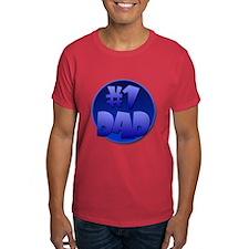 #1 Dad. T-Shirt