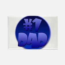 #1 Dad. Rectangle Magnet