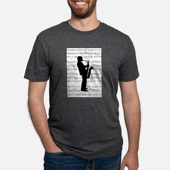Jazz Saxophone on T-Shirt