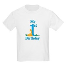 First Birthday Giraffe T-Shirt