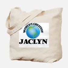 World's Greatest Jaclyn Tote Bag
