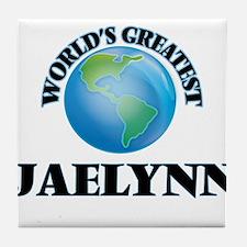 World's Greatest Jaelynn Tile Coaster