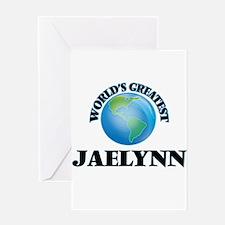 World's Greatest Jaelynn Greeting Cards