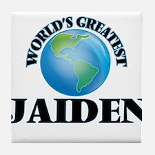World's Greatest Jaiden Tile Coaster