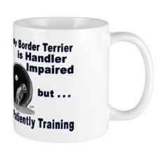Border Terrier Agility Mug