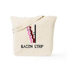 Bacon Strip Tote Bag