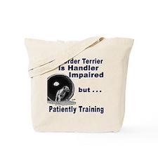 Border Terrier Agility Tote Bag
