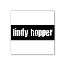 "Lindy Square Sticker 3"" x 3"""