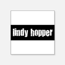 "Cute Lindy Square Sticker 3"" x 3"""