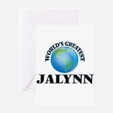 World's Greatest Jalynn Greeting Cards