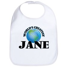 World's Greatest Jane Bib