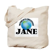 World's Greatest Jane Tote Bag