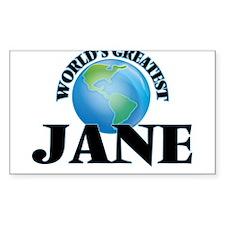 World's Greatest Jane Decal