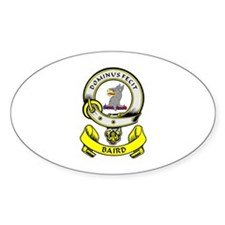 BAIRD Coat of Arms Oval Bumper Stickers