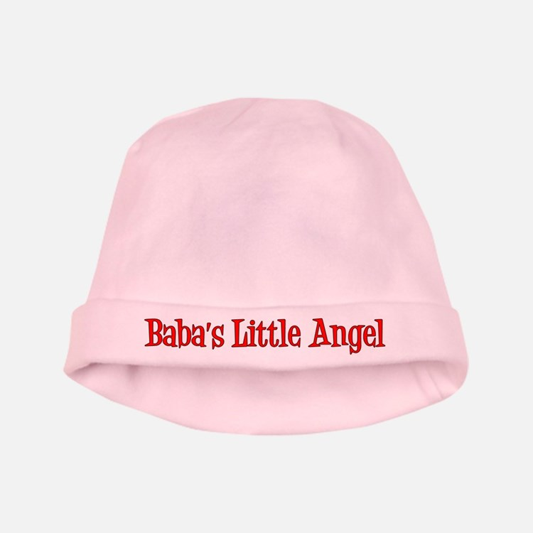 Baba's Little Angel Baby Hat