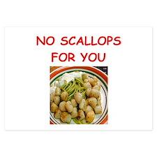 scallops Invitations