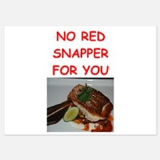 red snapper Invitations