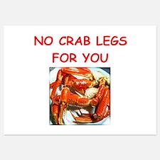 crab legs Invitations