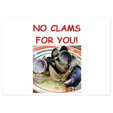 clams Invitations