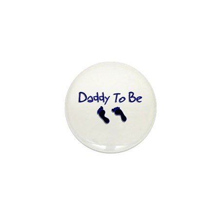 Daddy To Be Mini Button (10 pack)