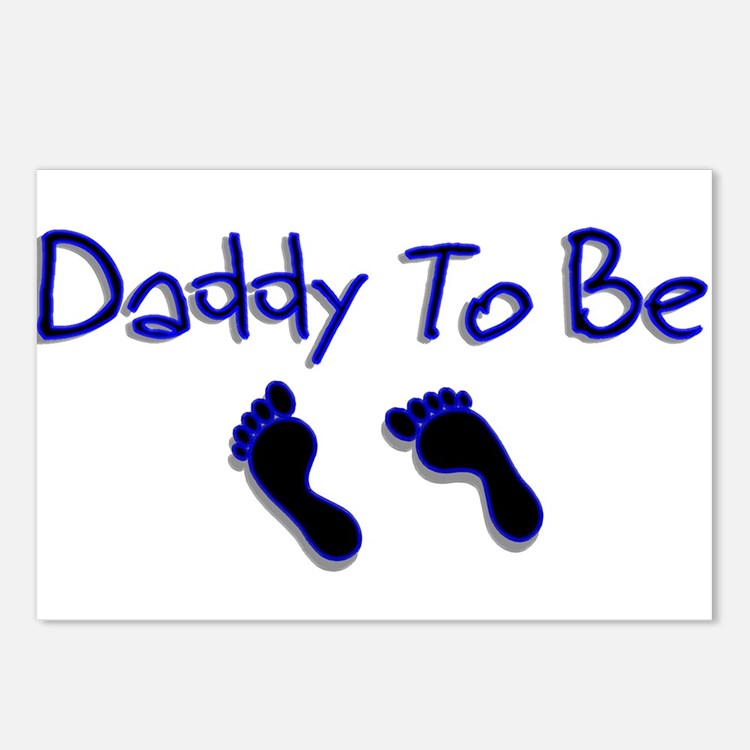 Daddy To Be Postcards (Package of 8)