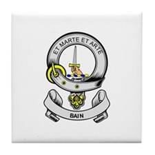 BAIN Coat of Arms Tile Coaster