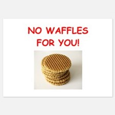 waffles Invitations