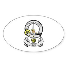 BAIN Coat of Arms Oval Decal