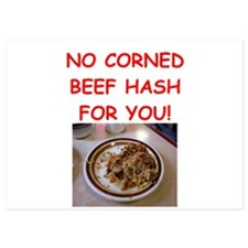 corned beef HASH Invitations