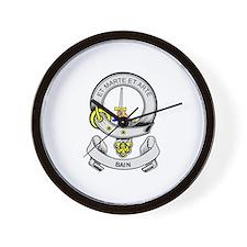 BAIN Coat of Arms Wall Clock