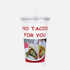 taco Acrylic Double-wall Tumbler