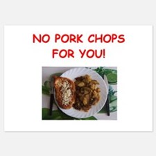 pork chops Invitations