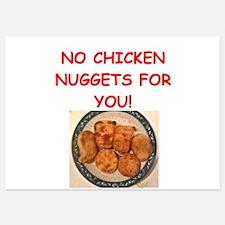 chicken nuggets Invitations