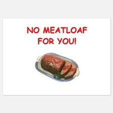 meatloaf Invitations